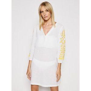 Chantelle Plážové šaty Garden C13J60 Biela Regular Fit vyobraziť