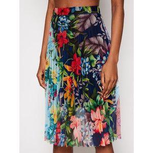 Desigual Plisovaná sukňa Buny 21SWFK03 Farebná Regular Fit vyobraziť