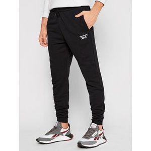 Reebok Teplákové nohavice Identity GJ0554 Čierna Regular Fit vyobraziť