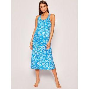 Lauren Ralph Lauren Nočná košeľa ILN01804 Modrá Regular Fit vyobraziť