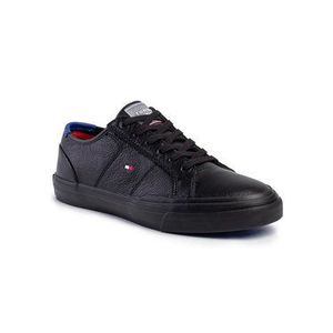 Tommy Hilfiger Tenisky Core Corporate Flag Sneaker FM0FM02593 Čierna vyobraziť