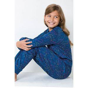 Dievčenské pyžamo Jednorožec modré vyobraziť