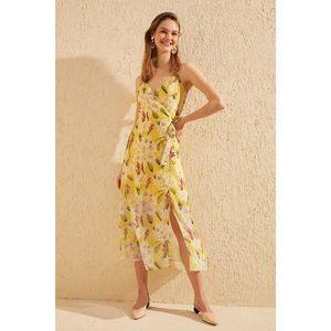 Trendyol dámské kvetinové šaty vyobraziť