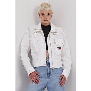 Tommy Jeans - Rifľová bunda vyobraziť