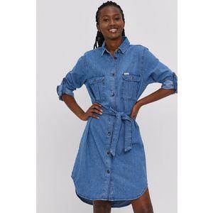 Cross Jeans - Rifľové šaty vyobraziť