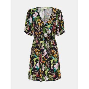 Letné a plážové šaty pre ženy ONLY - čierna, zelená vyobraziť