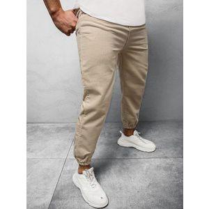 Originálne béžové menčestrové nohavice R/4083Z vyobraziť