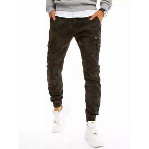 Čierne maskáčové kapsáčové nohavice vyobraziť