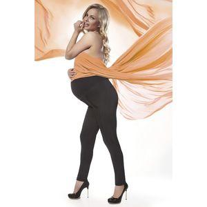 Čierne tehotenské legíny Stefanie 200DEN vyobraziť