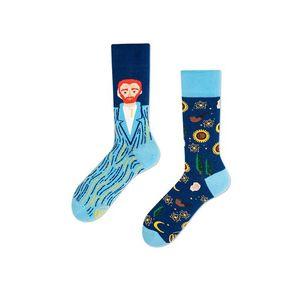 Žlto-modré ponožky True Vincent vyobraziť