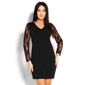 Čierne čipkované šaty 1457 vyobraziť