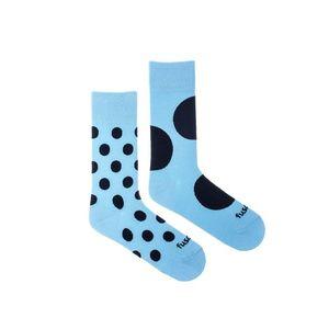 Modro-čierne ponožky Diskoš Azúro vyobraziť