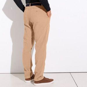 Chino nohavice z menčestru piesková 42 vyobraziť