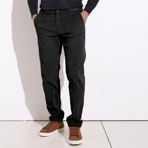Chino nohavice z menčestru čierna 46 vyobraziť
