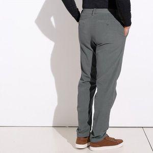 Chino nohavice z menčestru sivá 44 vyobraziť