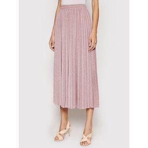 Guess Plisovaná sukňa Marion W01D88 K9HY0 Ružová Regular Fit vyobraziť