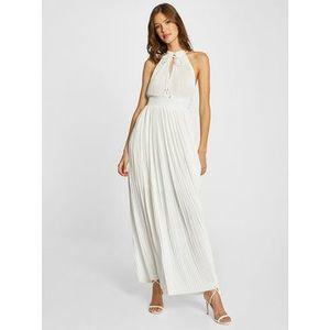 Morgan Večerné šaty 211-RSOL Biela Regular Fit vyobraziť