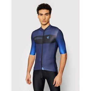Quest Cyklistické tričko Essential Tmavomodrá Slim Fit vyobraziť