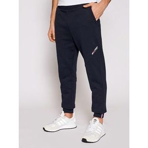 Tommy Hilfiger Teplákové nohavice Terry Logo MW0MW18462 Tmavomodrá Regular Fit vyobraziť