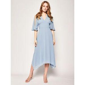 Marella Večerné šaty Risotto 32212701 Modrá Regular Fit vyobraziť