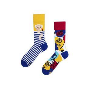 Modro-žlté ponožky Picassocks vyobraziť