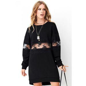 Čierne šaty NU260 vyobraziť