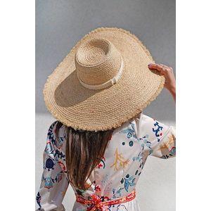 Béžový slamený klobúk Maeve vyobraziť