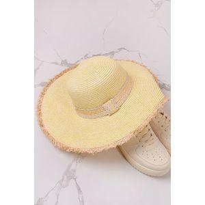 Svetložltý klobúk Marianne vyobraziť