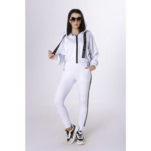 cotton tracksuit with contrasting tapes vyobraziť