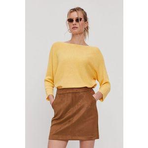 Žltý sveter VERO MODA vyobraziť