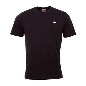 Čierne pánske tričko Kappa vyobraziť