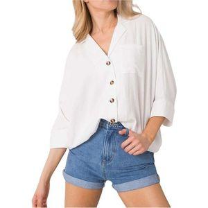 Biela dámska košeĺa vyobraziť