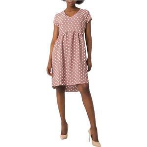 Ružové dámske šaty s bodkami vyobraziť