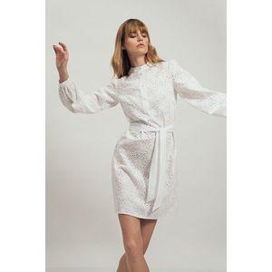 Biele čipkované šaty vyobraziť