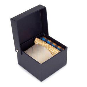 Darčekový set - hodvábna kravata a dve vreckovky do saka vyobraziť