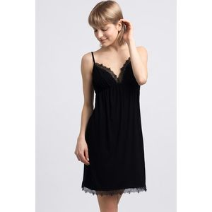 Čierna nočná košeľa LA047 vyobraziť