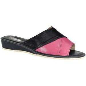 Papuče John-C Dámske Tmavomodro-ružové papuče RITA vyobraziť