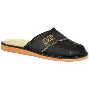 Papuče John-C Pánske čierno-sivé papuče VIPMEN vyobraziť
