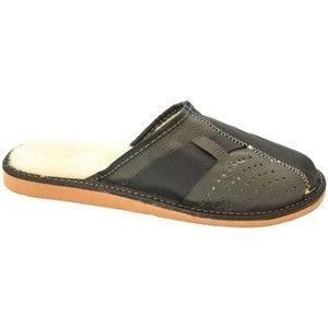 Papuče John-C Pánske čierno-sivé papuče JOSEFF vyobraziť