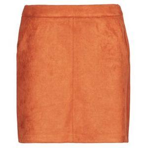 VERO MODA Sukňa oranžová vyobraziť