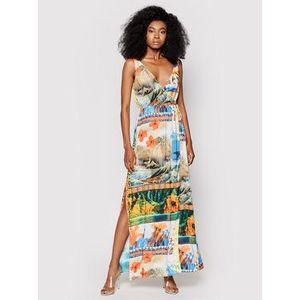 Desigual Letné šaty Hawai 20SWMW17 Farebná Regular Fit vyobraziť