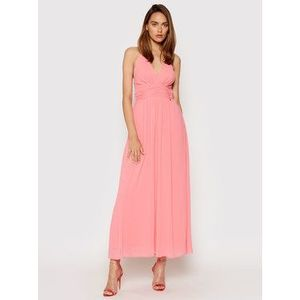 Rinascimento Večerné šaty CFC0103373003 Ružová Regular Fit vyobraziť