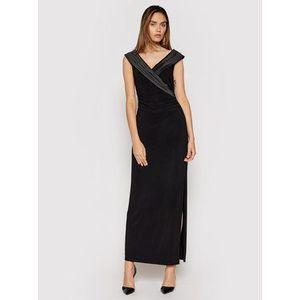 Lauren Ralph Lauren Večerné šaty 253767936004 Čierna Slim Fit vyobraziť