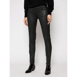 Guess Nohavice z imitácie kože Ultra Curve W1RA37 D3OZ1 Čierna Skinny Fit vyobraziť