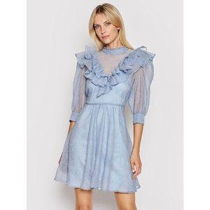 Custommade Letné šaty Luisa 212344408 Modrá Regular Fit vyobraziť