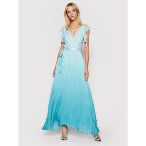 Guess Večerné šaty Sonia W1GK0Q WDXX0 Modrá Regular Fit vyobraziť