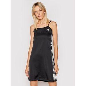 adidas Letné šaty adicolor Classics H33694 Čierna Regular Fit vyobraziť