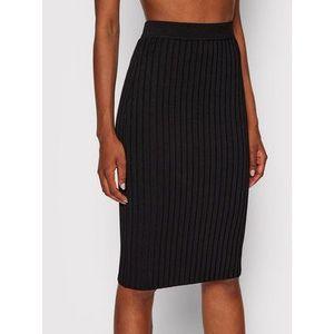 Guess Puzdrová sukňa W1YD9Z Z2U00 Čierna Slim Fit vyobraziť