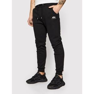 Alpha Industries Teplákové nohavice Basic Jogger 116370 Čierna Slim Fit vyobraziť