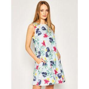 Marella Letné šaty Esotico 32210905 Farebná Regular Fit vyobraziť